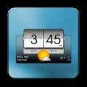 3D Flip Clock & Weather widget